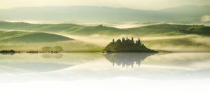Weinstark Header Hintergrundbild Toskana